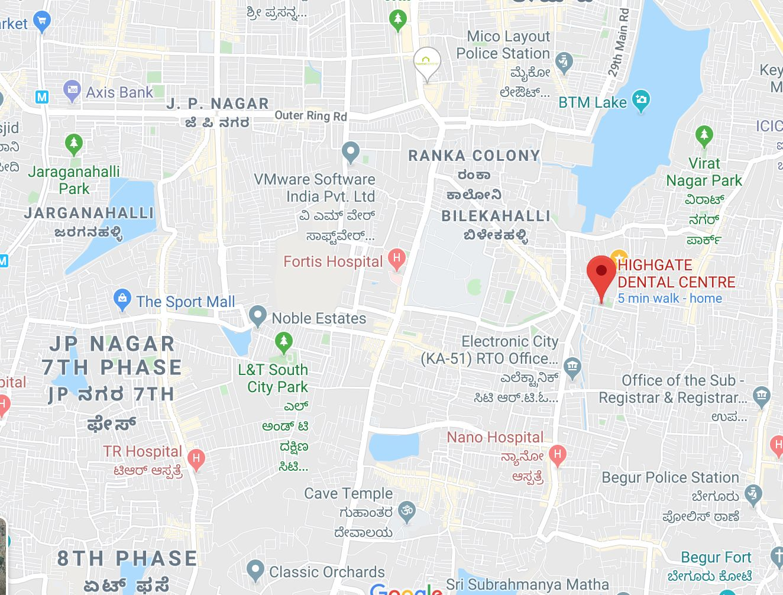 Dentist for RCT in JP Nagar
