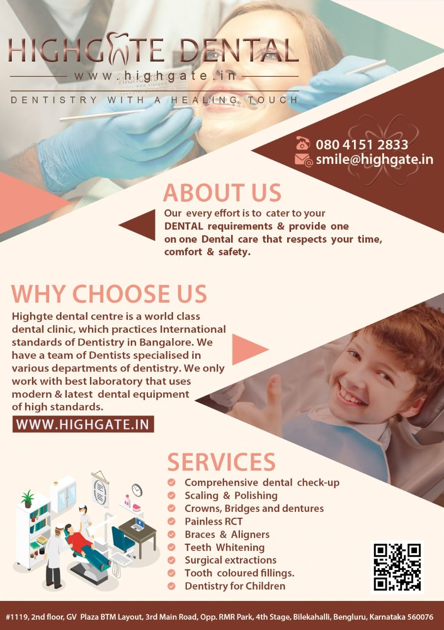 Dentist for RCT in Bangalore
